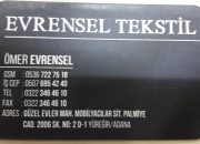 EVRENSEL TEKSTİL