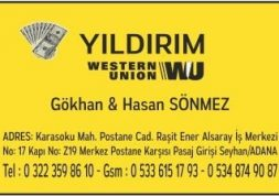 YILDIRIM WESTERN UNION